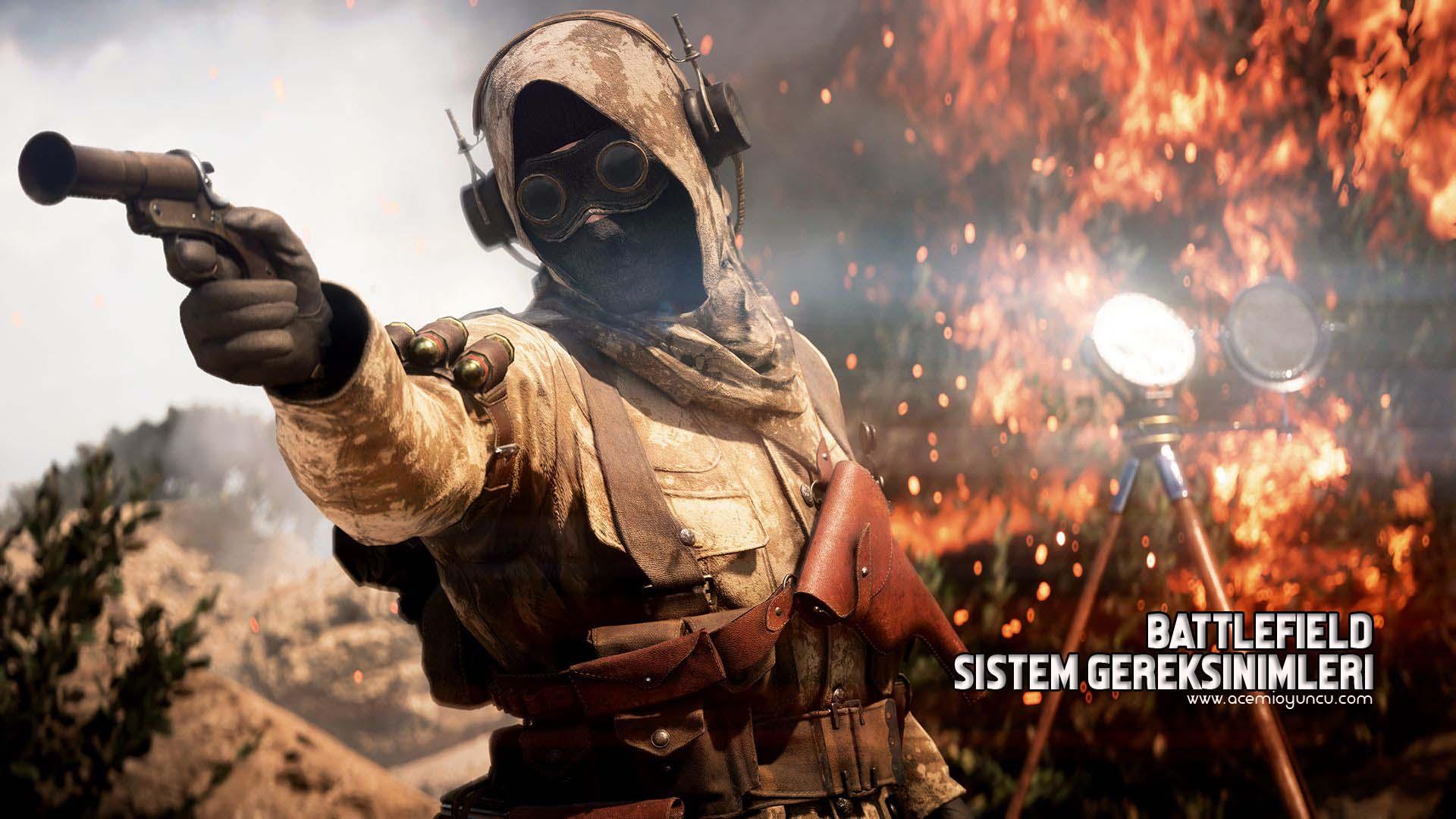 Battlefield 1 Sistem Gereksinimleri – Battlefield 1 Kaç GB ?