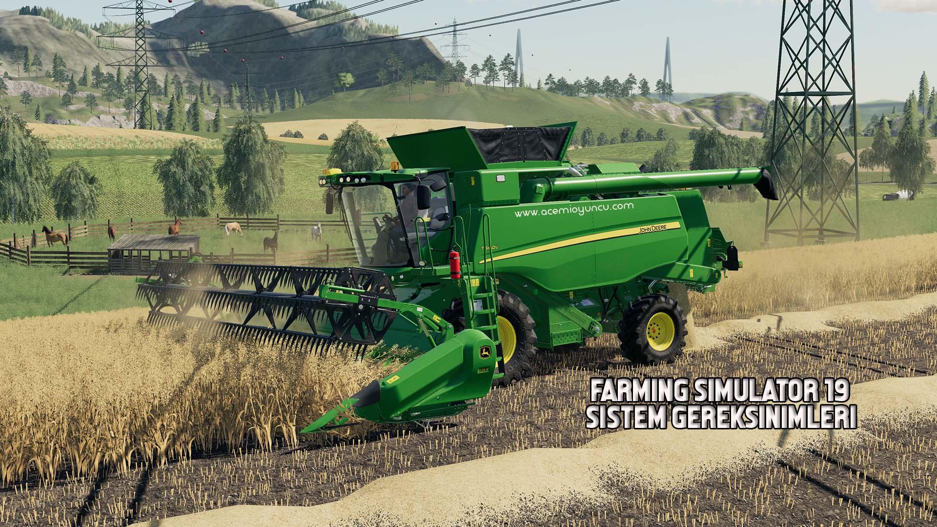 Farming Simulator 19 Sistem Gereksinimleri – Farming Simulator 19 Kaç GB ?