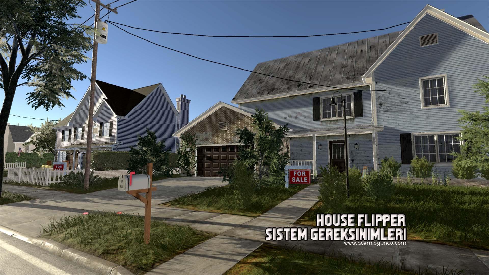 House Flipper Sistem Gereksinimleri – House Flipper Kaç GB ?